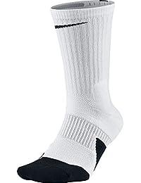 Nike U ELT Crew 1.5 Calcetines, Hombre, Blanco (White/Black),
