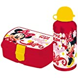 Minnie Mouse Gift Set Lunch Box and Flask