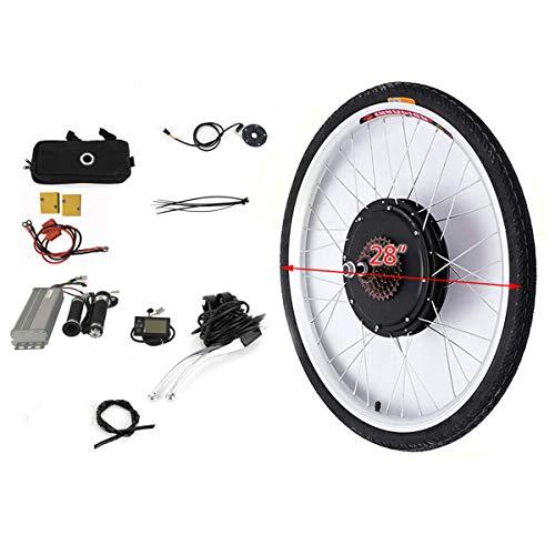 "OU BEST CHOOSE 28\"" Hinterrad Elektro-Fahrrad Umbausatz EBike Conversion Kit Hub Heckmotor mit LCD Display (36V 250W)"
