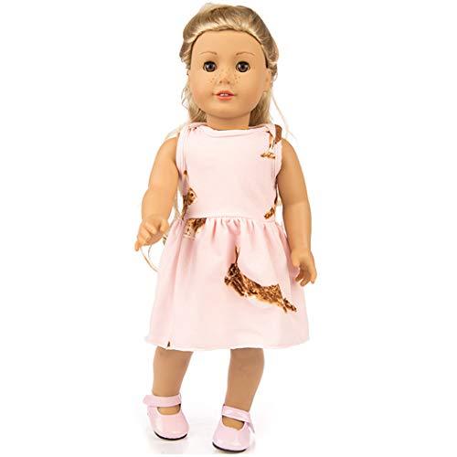 Zolimx Puppenkleid für 18 Zoll American Doll Accessory Girl's Spielzeug Puppenkleidung
