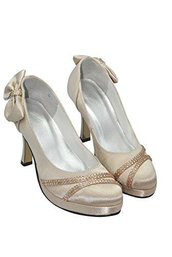 Kevin Fashion , Chaussure de mariée fashion femme Or - Dorado - dorado