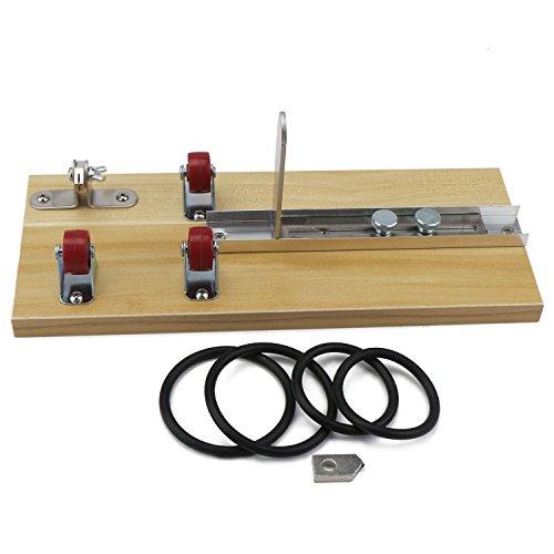 DROK® Botella de vidrio cortador de madera Junta de bricolaje Kit de herramientas, botellas de corte de la máquina Botella de vino herramienta de corte para DIY Cristalería / Lámparas / Jarrones / Candelabros, fácil de usar