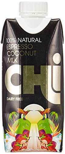 CHI Coconut Espresso mit Kokos Milch - Laktosefrei, 12er Pack (12 x 330 ml) (Grace Coconut)