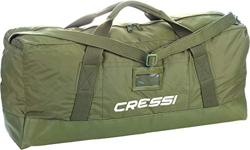 Cressi jungle borsa, unisex adulto, verde,