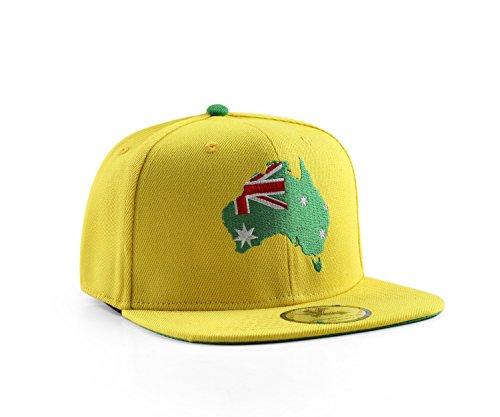 Underground Kulture World Edition Country Snapback Baseball Cap Gr. Einheitsgröße, australien
