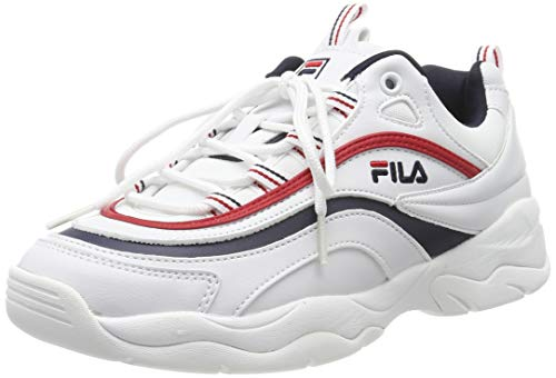 Fila Damen Ray Low WMN 1010562-150 Sneaker, Weiß (White), 39 EU