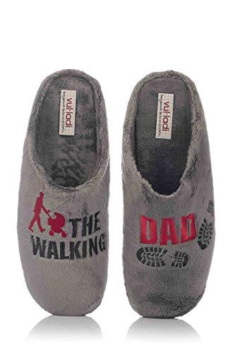 nuevo concepto dfc80 39c65 vul-ladi Zapatilla de casa The Walking Dad
