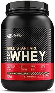 Optimum Nutrition Gold Standard 100% Whey Proteine in Polvere con Proteine Isolate ed Aminoacidi per la Massa