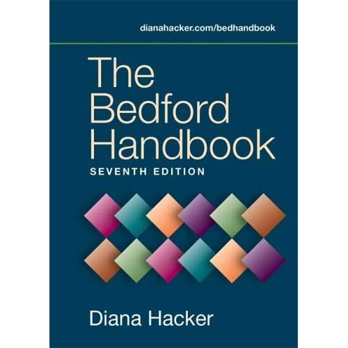The Bedford Handbook by Diana Hacker (November 19,2005)