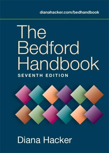 The Bedford Handbook by Diana Hacker (November 19,2005) par Diana Hacker