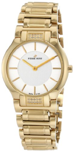 Pierre Petit Women's Quartz Watch Laval P-799K with Metal Strap