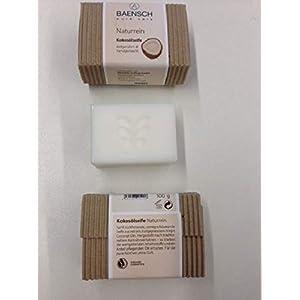 3 x 100 g naturreine Kokosölseife, parfümfrei, kalt gerührt, handgemacht, Ölmühle Solling (EUR 59,00/kg)