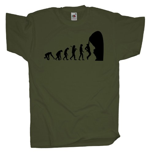 Ma2ca - Evolution - Climbing Kletter T-Shirt Olive