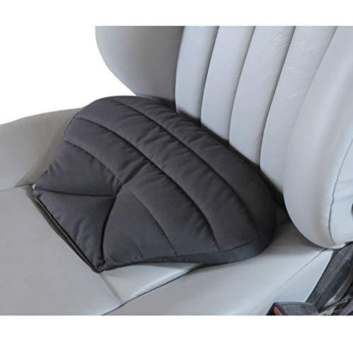 Big Ant Orthopädisches Sitzkissen Auto - Autositzkissen für unteren Rücken, Steißbein, Hüfte, Steißbein - Auto Sitzauflage für Auto, LKW, Bürostuhl und Rollstuhl(Schwarz)