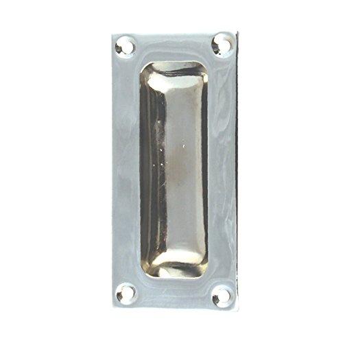 Flush Sliding Door Pull Handle Polished Chrome