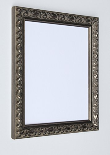 Taillierte, Frames-Vienna Silber, Vintage Shabby Chic Bilderrahmen Größe A3