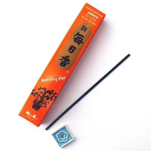 Preisvergleich Produktbild Nippon Kodo Räucherstäbchen Morning Star Duftrichtung Amber