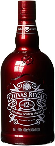 Chivas Regal Scotch 12 Years Old Red Night Edition Magnum Whisky (1 x 1.5 l)