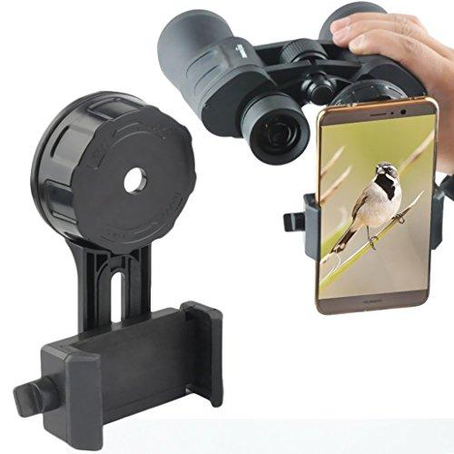 gosky Fernglas Spektiv Smartphone Adapter–Schnelle Ausrichtung Version Smartphone Digiskopie...