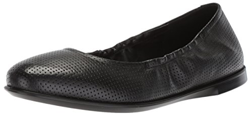 ECCO Damen INCISE Enchant Geschlossene Ballerinas, Schwarz (Black), 40 EU Black Leather Simple Pumps
