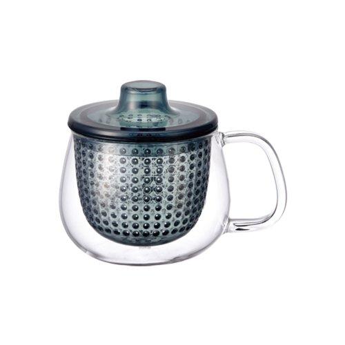 Kinto UniMug Tasse mit Teefilter 350 ml blau