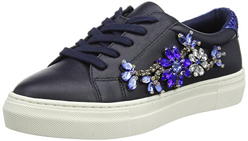 Duna Ladies Emerelda Low-top Blu (blu Navy)
