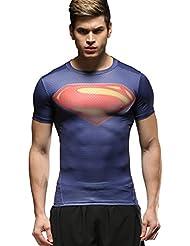 Cody Lundin Homme Compression T-Shirt Mouvement Collants Sport Fitness Vêtements Superhero Shirt