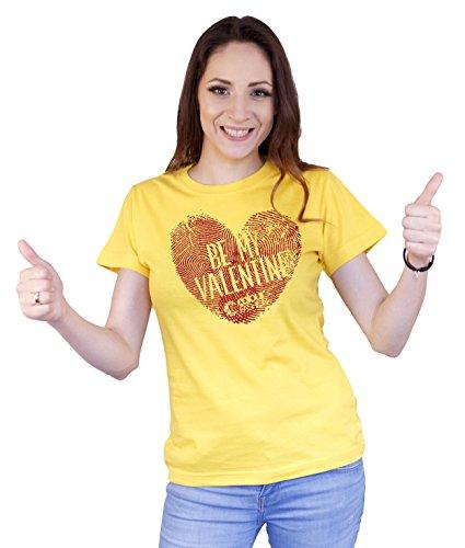 Colour Fashion T-shirt - Donna Yellow
