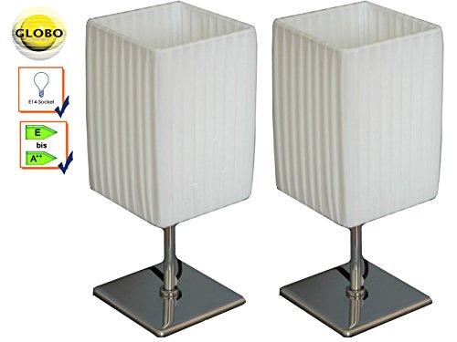 juego-de-2-manteles-leuchten-bailey-cromo-pulido-pantalla-rectangular-textil-color-blanco-globo-ligh