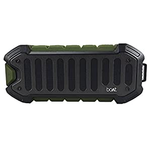 boAt Stone 700 Water Proof and Shock Proof Wireless Portable Speakers (Military Green)