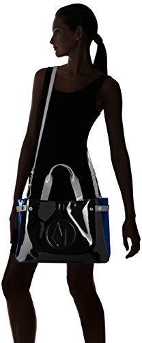 Gli amanti dello shopping e Womens borse a tracolla, colore Nero , marca ARMANI JEANS, modello Gli Amanti Dello Shopping E Womens Borse A Tracolla ARMANI JEANS VENUS Nero Nero