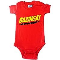 BODY tutina pagliaccetto bimbo neonato Bazinga