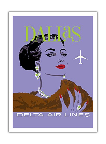 dallas-texas-delta-air-lines-vintage-airline-travel-poster-by-john-hardy-c1960s-premium-290gsm-gicle