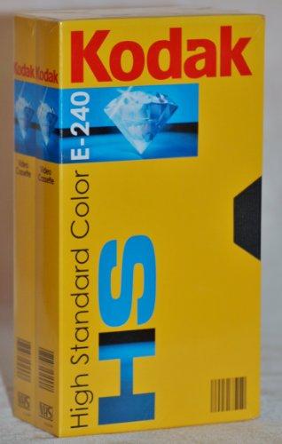 Videocassette Kodak HS E - 240 (Doppelpack)