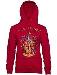 Sweat capuche femme Harry Potter quipe de Quidditch de Gryffondor