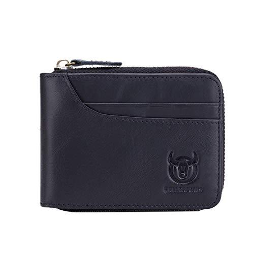 Preisvergleich Produktbild leap-G Geldbeutel Männer mit Geldklammer,  Herren Geldbörse Geldtasche,  Premium Geldbörse mit Geldklammer und Münzfach Portemonnaie Herren,  Geschenk Wallet