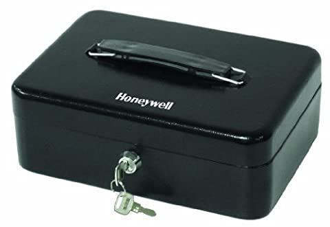 Honeywell Standard Steel Cash Box with 2 Entry