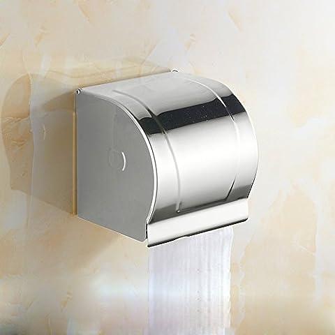 ZHGI Creative toallero oro tejido caja sellada de cartón portarrollos toallero de mano,plata
