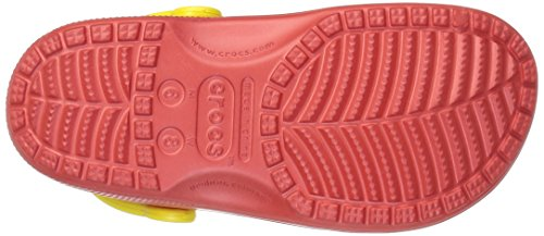 crocs Unisex-Erwachsene Classic Fruit Clogs Rot (Flame)