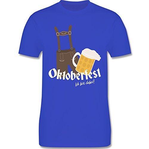 Oktoberfest Herren - Oktoberfest - Ich bin dabei! - 3XL - Royalblau - L190 - Herren Premium T-Shirt