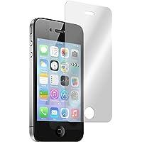 2 x Glas-Folie klar für Apple iPhone 4S PhoneNatic Panzerglas für iPhone 4S