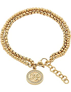 GMK Collection by CHRIST Damen-Armband Edelstahl 26 Zirkonia One Size, gold