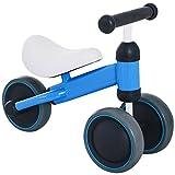 HOMCOM Triciclo Bicicleta sin Pedales para Niño 1-3 Años con Sillón Cómodo Aprender a Caminar Carga 30kg 47x19x35cm Aluminio