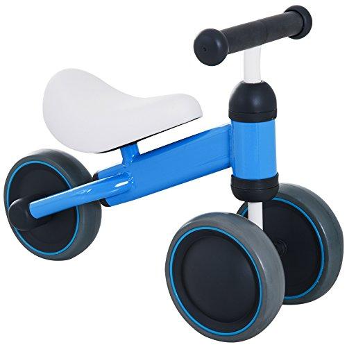 Homcom Triciclo Bicicleta sin Pedales Niño 1-3 Años