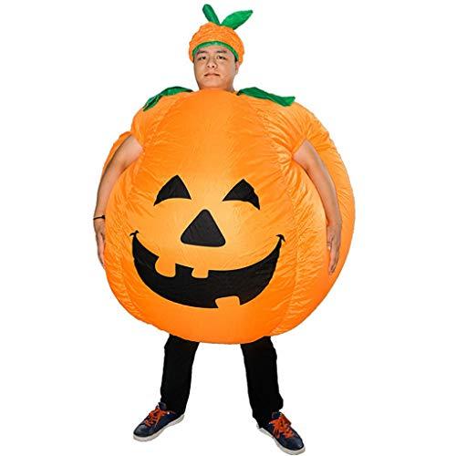 BWNWPH Halloween Schlauchboote/Kürbis Show Kostüme/Cartoon Requisiten Kostüme Rollenspiele Spezifische Kostüme Park for Erwachsene Größe Hoch 1.8m