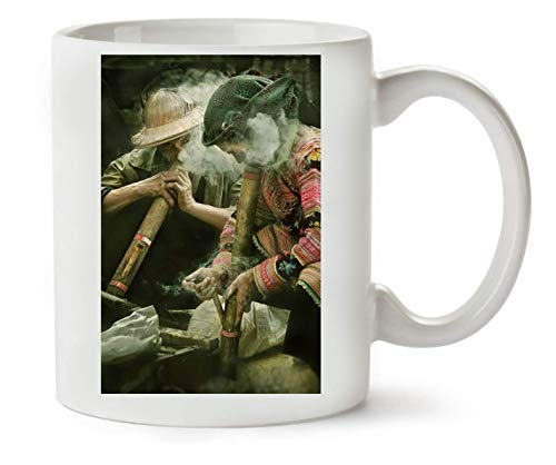 Herto Art Light Your Own Bong Artwork Klassische Teetasse Kaffeetasse