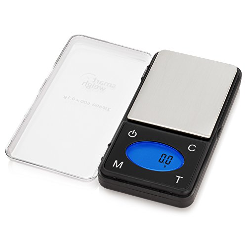 Smart Weigh - ZIP600 Báscula de...