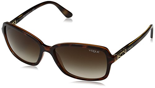 Vogue Gradient Rectangular Women'S Sunglasses - (0Vo5031S23861358|57. 9|Brown Gradient) image