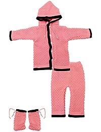 The Creators™ Unisex Sweater Set (Pink, 0-6 Months)