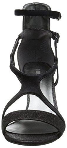 Nine West Guppy Textile Sandale Black